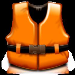 Floating clipart life jacket