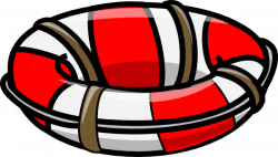Floating clipart lifeboat