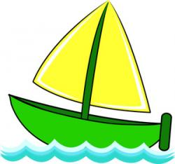 Sailboat clipart cartoon