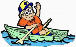 Row Boat clipart simple boat