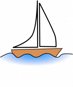 Sailing Boat clipart cartoon