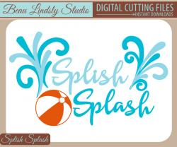 Floating clipart splish splash