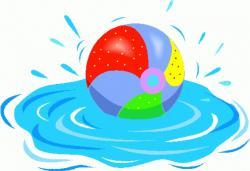 Floating clipart summer splash