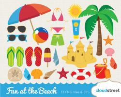Holydays clipart summer vacation