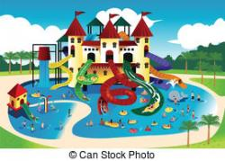 Floating clipart water park
