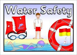 Floating clipart water safety
