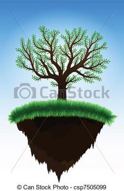 Floating Island clipart grass