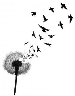 Dandelion clipart bird
