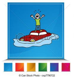 Flood clipart cartoon