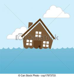 Flooded clipart drawing picture
