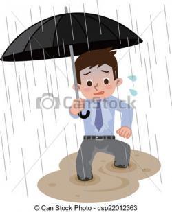 Flooded clipart heavy rain