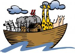 Flood clipart noah's ark