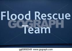 Flood clipart rescue team