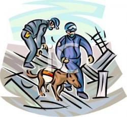 Flood clipart search and rescue