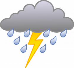 Lightening clipart bad weather