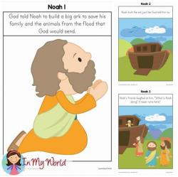 Flood clipart sunday school