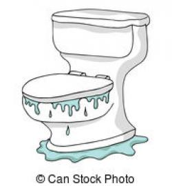 Flood clipart toilet