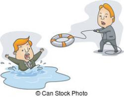 Drown clipart Person Drowning