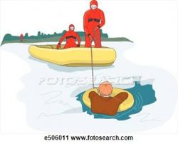 Flooded clipart water rescue