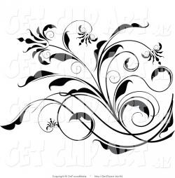 Elegance  clipart simple flower