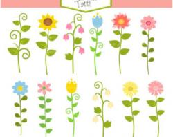 Sunbeam clipart cute garden
