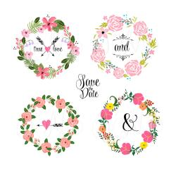 Ivy clipart floral garland