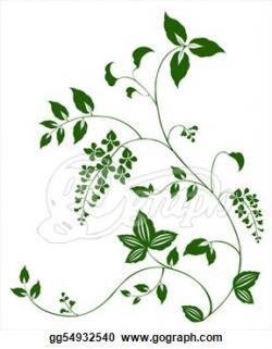 Floral clipart leaf vine