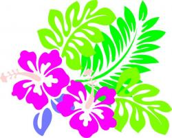 Floral clipart leafy vine