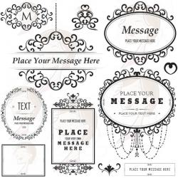 Classic clipart vintage tag
