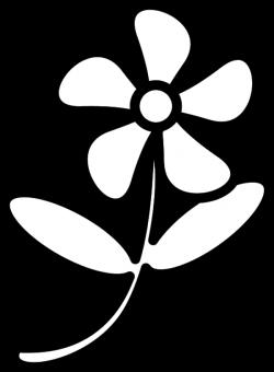Floral clipart outline