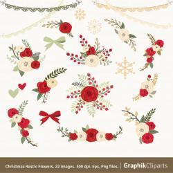 Rustic clipart bouquet