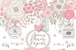 Cage clipart shabby chic