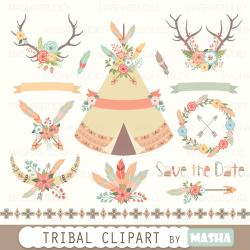Indian clipart tribal