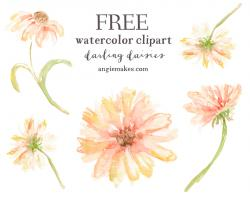 Colors clipart watercolor