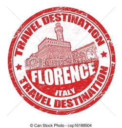 Stamp clipart florence