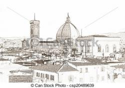 Florence clipart drawing