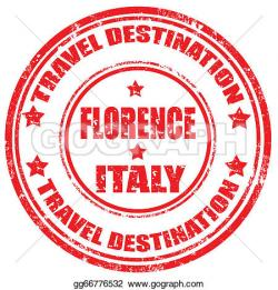 Florence clipart stamp