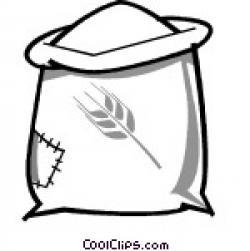 Grain clipart flour sack