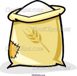 Grains clipart flour sack