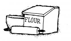 Flour clipart all purpose