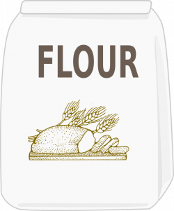 Flour clipart bag flour