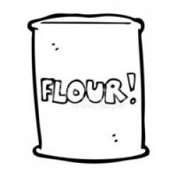 Flour clipart packet