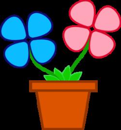 Flowerpots clipart