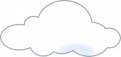 Cloud clipart fluffy cloud
