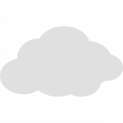 Clouds clipart simple