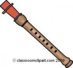 Flute clipart music instrument