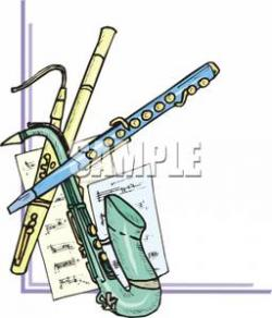 Flute clipart woodwind