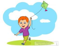 Kite clipart flying a