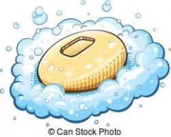 Soap clipart foam