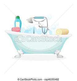 Foam clipart bathtub